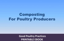 Composting for Poultry Producers
