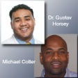 Dr. Gus Horsey And Michael Colter