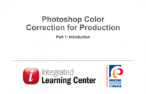 Photoshop Color Correction for Production