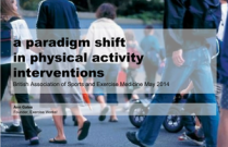 A Paradigm Shift for Physical Activity