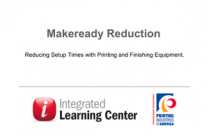 Makeready Reduction: Reducing Setup Times in Printing