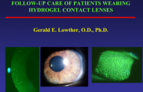 Follow-up Care of Patients Wearing Hydrogel Contact Lenses