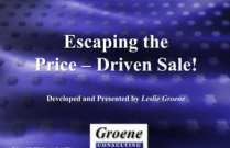 Escaping the Price-Driven Sale