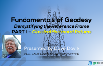 Fundamentals of Geodesy Part II - Classical Horizontal Datums