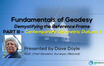 Fundamentals of Geodesy Part III - Contemporary Geometric Datums 1