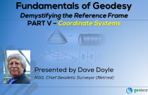 Fundamentals of Geodesy Part V - Coordinate Systems