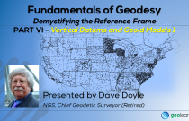 Fundamentals of Geodesy Part VI - Vertical Datums & Geoid Models 1