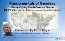 Fundamentals of Geodesy Part VII - Vertical Datums & Geoid Models 2