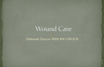Wound Care for Health Providers