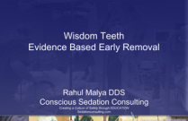 Wisdom Teeth Evidence Based Early Removal