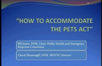 How to Accommodate the Pets Act