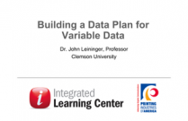 Building a Data Plan for Variable Data