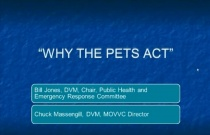 Why the Pets Act