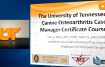 Introduction to the Canine Osteoarthritis Case Manager Certificate