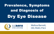 Prevalence, Symptoms and Diagnosis of Dry Eye Disease