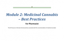 Medicinal Cannabis – Best Practices