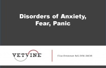 Disorders of Anxiety, Fear, Panic