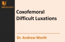 Coxofemoral Difficult Luxations