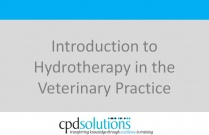 Introduction to Hydrotherapy in the Veterinary Practice