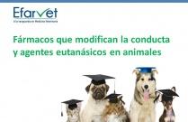 Fármacos que modifican la conducta y agentes eutanásicos en animales