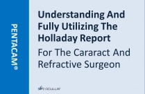 Understanding And Fully Utilizing The Holladay Report For The Cararact And Refractive Surgeon