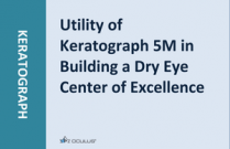 Utility of Keratograph 5M in Building a Dry Eye Center of Excellence