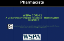 COR-12 A Comprehensive Opioid Response - Health System Ingegration