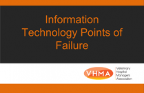 Information Technology Points of Failure