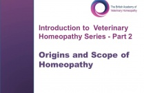 Origins and Scope of Homeopathy (Introduction to Veterinary Homeopathy Series Part 4)