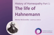 History of Homeopathy - Life of Hahnemann