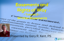 Easements and Rights of Way 3 – Written Easements