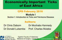 Economically Important  Ticks of East Africa