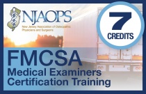 FMCSA - Federal Motor Carrier Safety Administration  Certified Medical Examiner Training