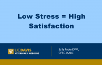 Low Stress = High Satisfaction