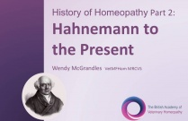 History of Homeopathy Part 2: Hahnemann to the Present