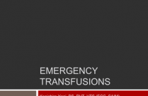 Emergency Transfusions