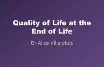 Quality of Life at the End of Life  - Quality of Life Scale