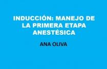 Inducción: manejo de la primera etapa anestésica