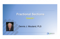 Basics of Fractional Sections in the USPLS