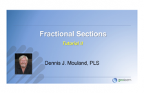 Application of the Law in Fractional Sections