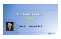 Legal Fine Points  for Fractional Sections