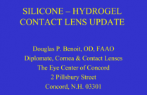 SILICONE-HYDROGEL CONTACT LENS UPDATE