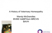 History of Veterinary Homeopathy