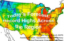 Today's Forecast: Record Highs Across the Region. - Pharmacy Technicians