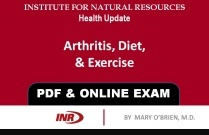 Pharmacist: Arthritis, Diet, & Exercise