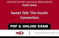 Pharmacist: Sweet Talk The Insulin Connection