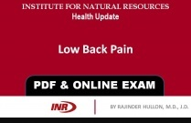 Pharmacist: Low Back Pain