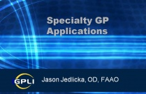 Specialty GP Applications