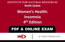 Pharmacist: Women's Health Insomnia 4th Edition