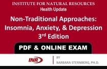 Pharmacist: Non-Traditional Approaches, Insomnia, Anxiety, & Depression 3rd Edition